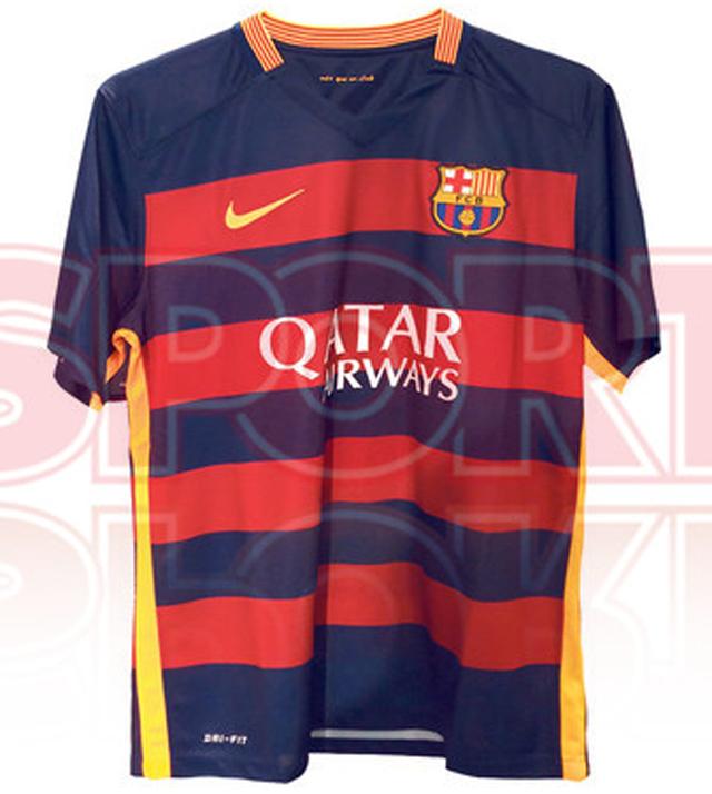 8b5b824752285 Filtran posibles playeras del Barça para temporada 2015-16