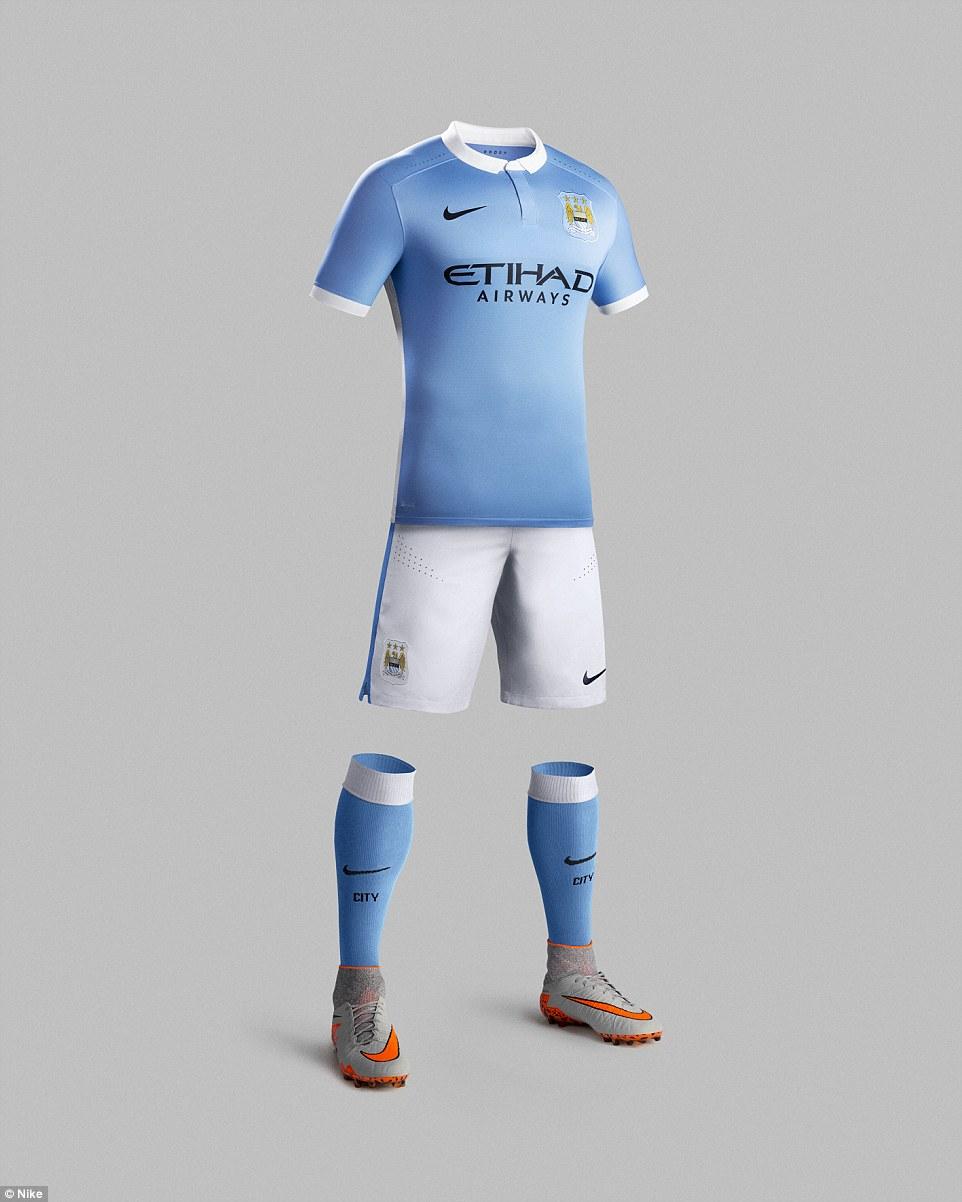 Nuevo uniforme del Manchester City - Foto    NIKE a0722393f1c41