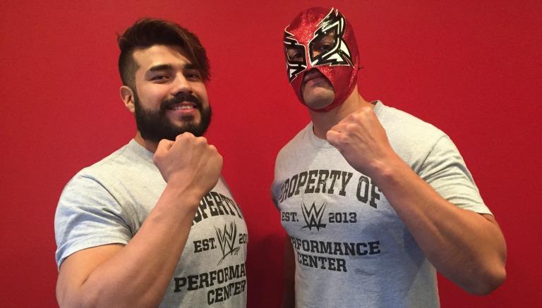 Manny Andrade y Óscar Valdéz se juntan en NXT