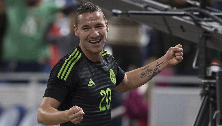 Thumbnail Jesús Dueñas celebra tras marcar contra Senegal