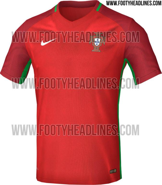 Supuesta playera de Portugal para la Euro 2016 ef398ef4a09a7