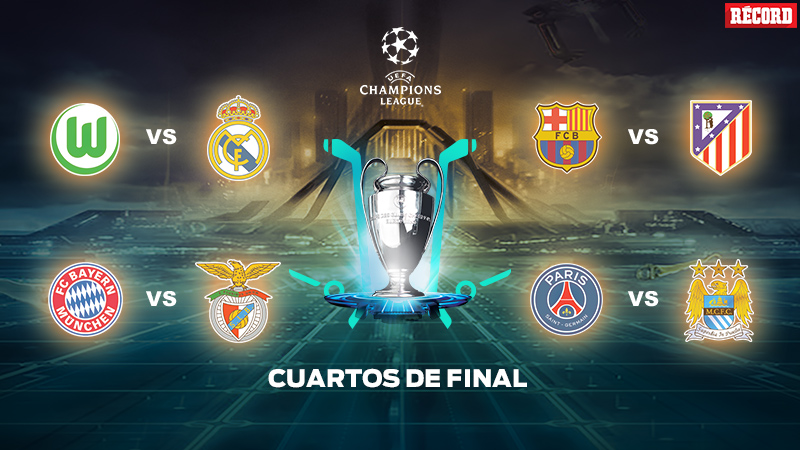 Duelos de Cuartos de Final de Champions League