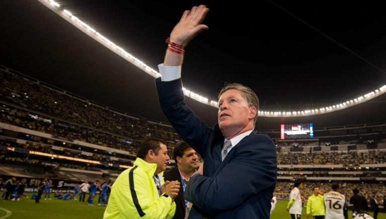 Thumbnail Ricardo Peláez durante la Final de Concachampions