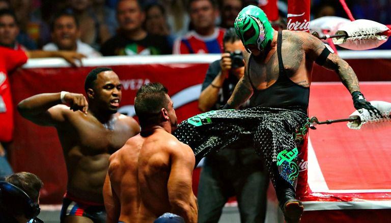 Mundial de Lucha Libre 2015 se llevó a cabo en la CDMX