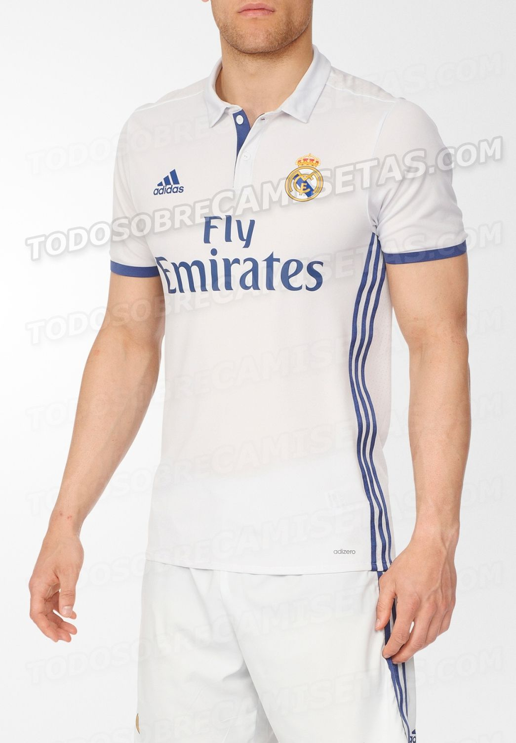 Real Madrid volvería a usar color azul en su camiseta