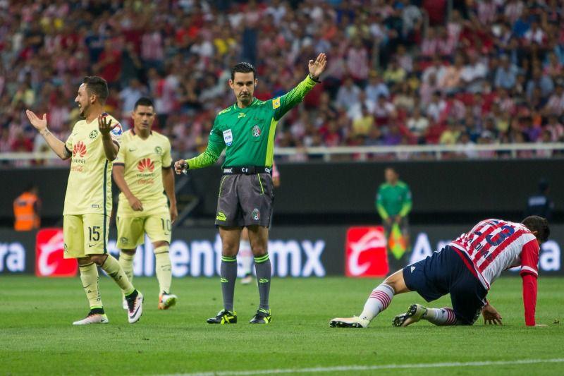 César Ramos, durante la Ida del partido entre Chivas y América