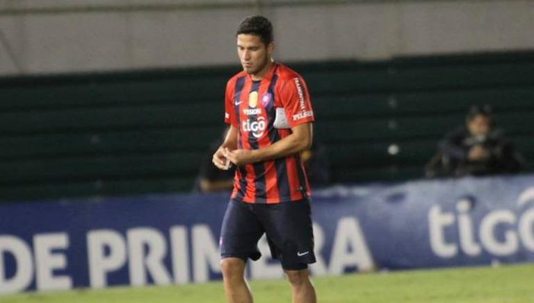 El paraguayo tras un partido con Cerro Porteño