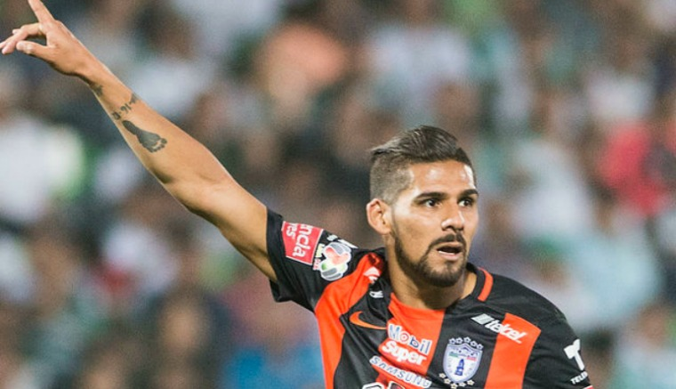 Thumbnail Franco Jara en un partido con Pachuca