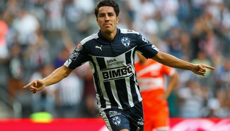 Thumbnail Juárez festeja un gol con Rayados
