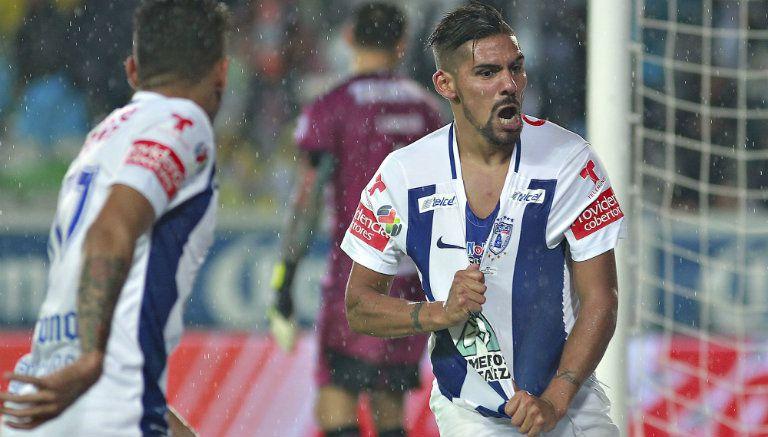 Thumbnail Jara festeja tras marcar con Pachuca