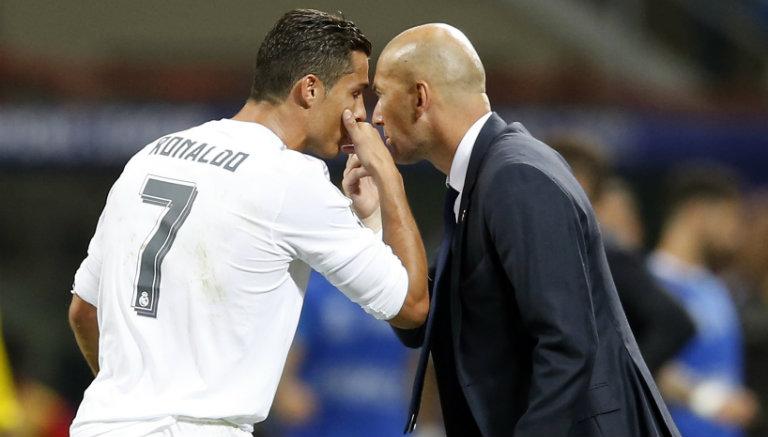 Thumbnail Cristiano y Zidane hablan en la Final de Champions