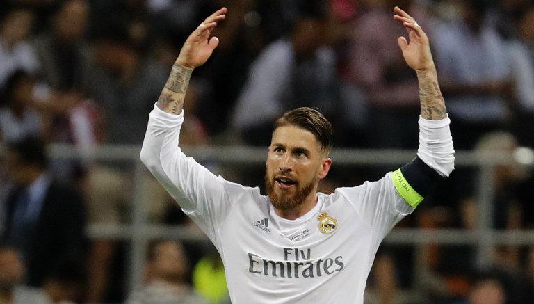 Thumbnail Sergio Ramos celebra su anotación contra Atlético de Madrid