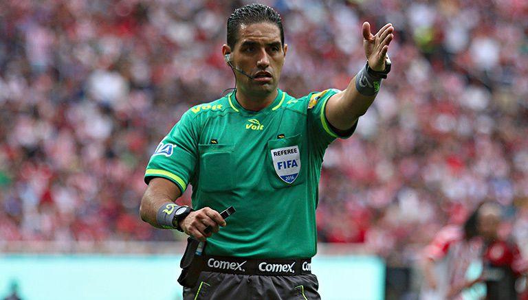 Thumbnail García Orozco, en un partido de la Liga MX
