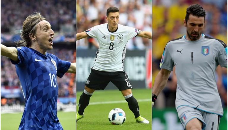 Thumbnail Modric, Ozil y Buffon apuntan a protagonistas en la Euro