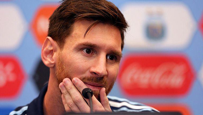 Thumbnail Lionel Messi, en conferencia de prensa