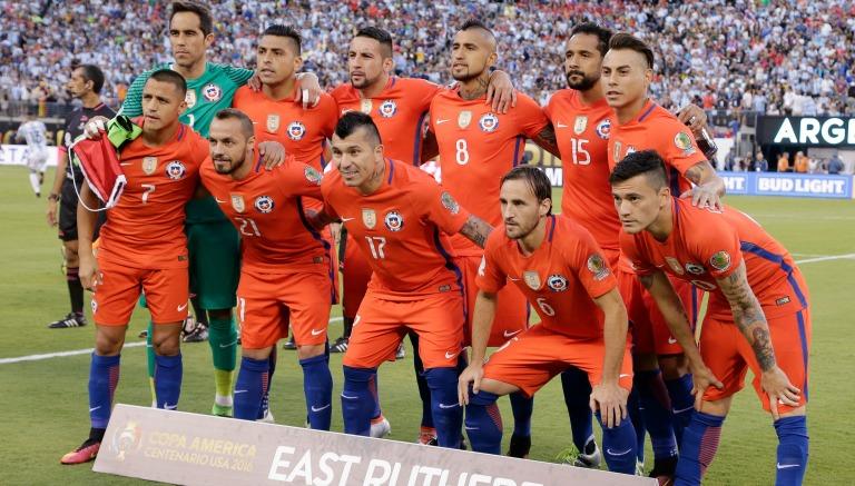 Thumbnail Once inicial de la selección de Chile para la Final de CA