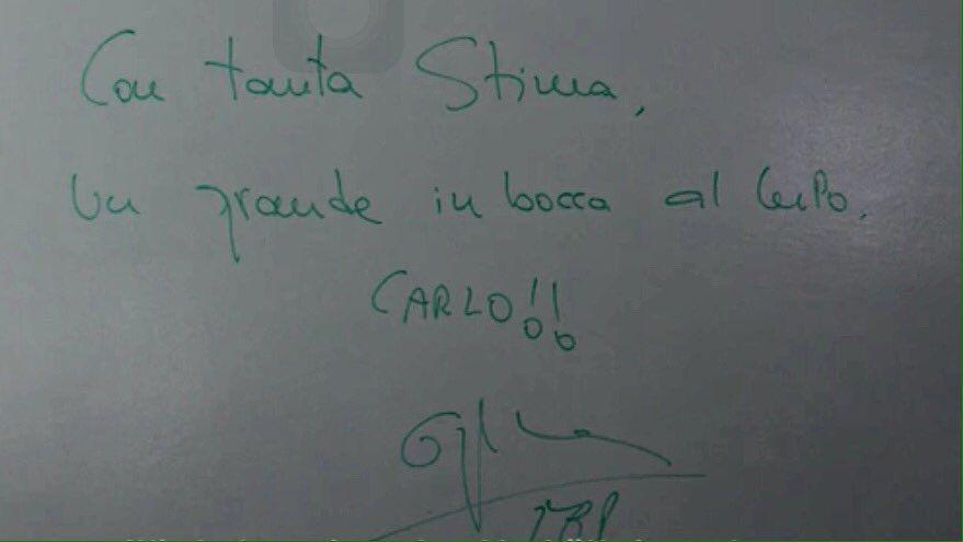 El mensaje que dejó Pep a Ancelotti en las oficinas del Bayern