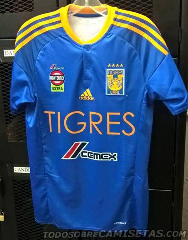 Imagen de la que sería la nueva playera de visita de Tigres UANL 6e9e3e13c54a6