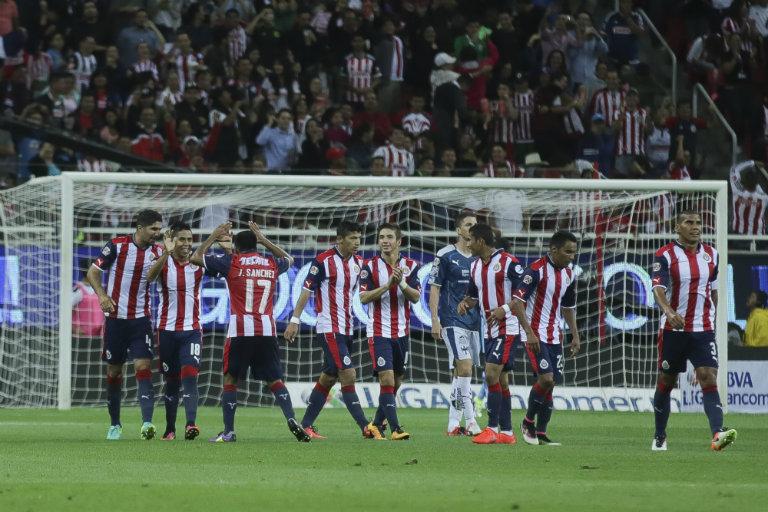 Partido entre Chivas y Monterrey presentó fallas en la plataforma