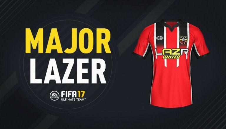 Major Lazer optó por el color rojo en su playera d5320e4c70f63