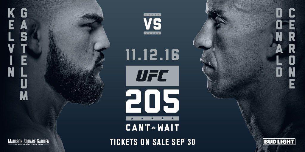 Gastelum enfrnetará a Cerrone en UFC 205