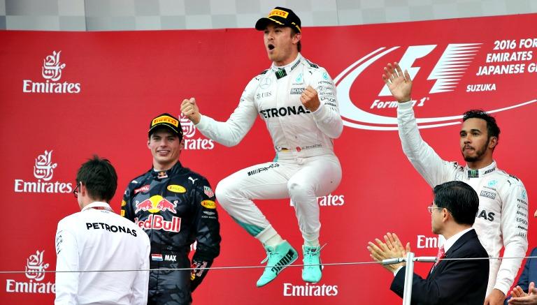 Nico Rosberg obtuvo el triunfo en el GP de Japón