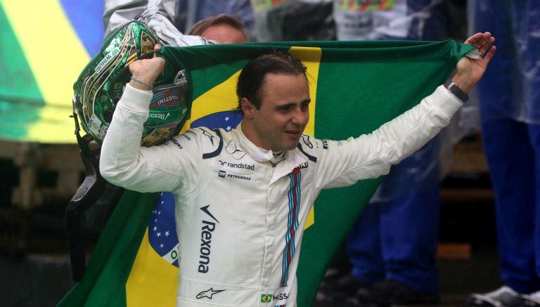 Felipe Massa se despide entre lágrimas del GP de Brasil