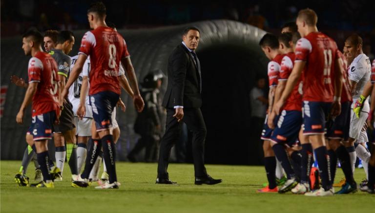 Pablo Marini en último juego de DT del Veracruz