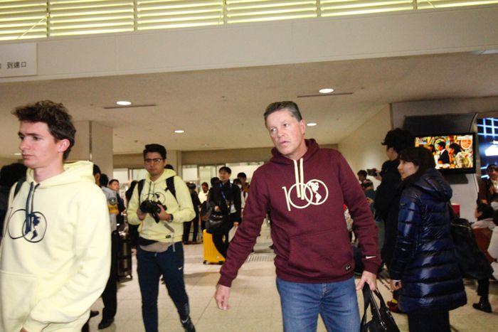 Ricardo Peláez arriba a Japón con sus Águilas