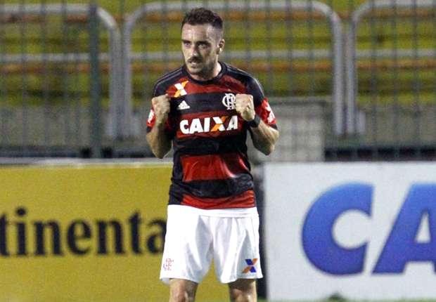 Mancuello, en un partido con Flamengo