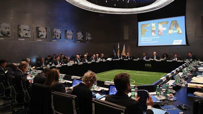 Reunión de FIFA para realizar la votación a la propuesta de Infantino