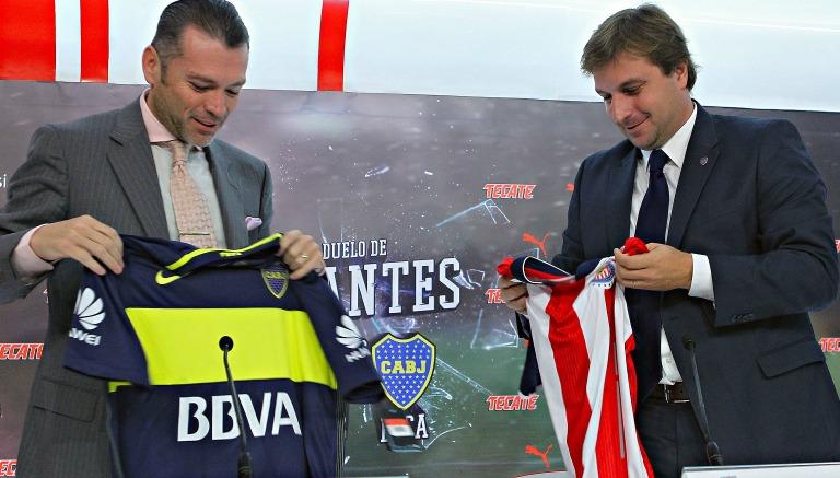 Chivas-Boca, por el prestigio