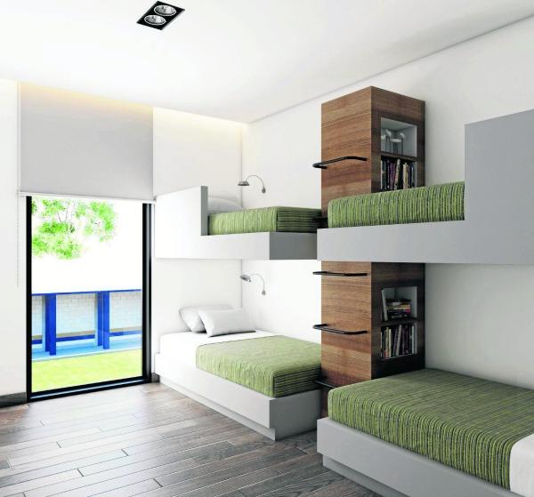 La casa club contará con áreas de descanso para los canteranos