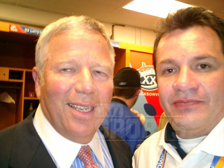 Kraft y Ortega también posaron en una foto