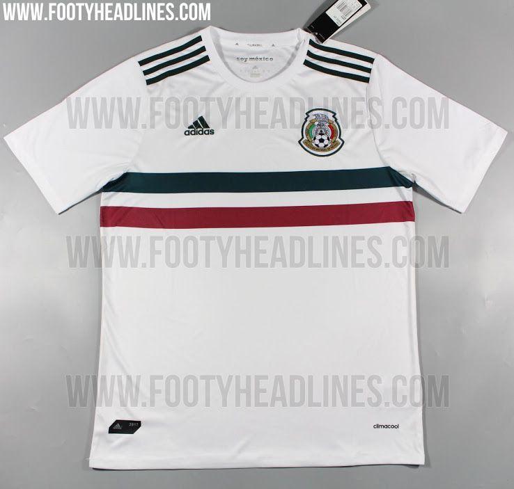 172bf33779e43 Detalles del posible jersey de México para la Confederaciones