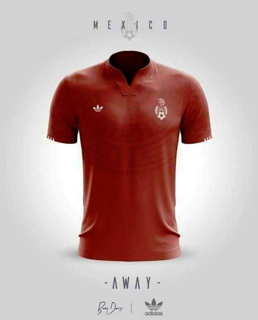 Así podría ser la camiseta de la Selección Mexicana en un futuro cercano