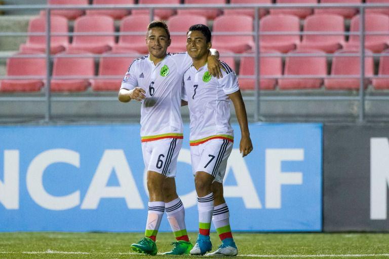 El Tri Sub 17 golea a Jamaica y avanza en el Premundial
