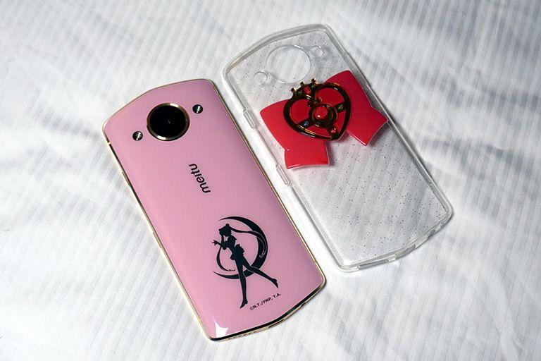 Lanzan smartphone inspirado en Sailor Moon por sus 25 años