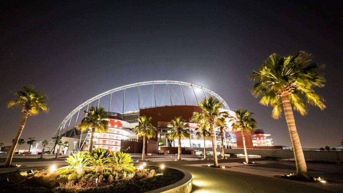 Así luce el primer estadio finalizado para Qatar 2022
