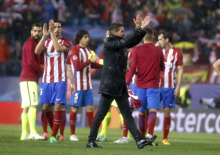 Griezmann descartó salir del Atlético si se va Simeone