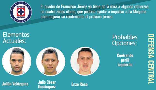 Cruz Azul viajará a España para contratar a Fernando