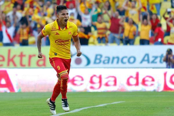 Ruidíaz grita un gol conseguido con los colores del Morelia