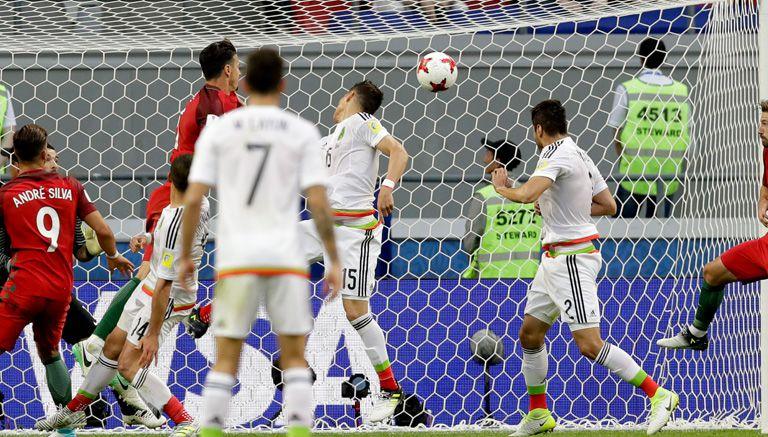 Moreno remata para igualar el marcador en el último minuto