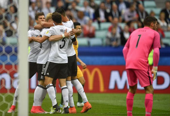 El joven goleador alemán Timo Werner, una amenaza para México