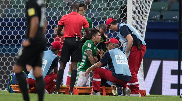 Portugal y México están en semifinales de la Copa Confederaciones