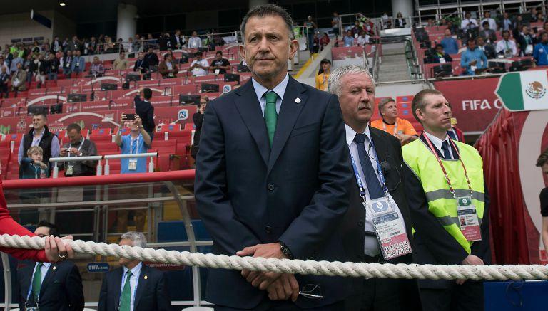 Osorio, durante un juego de Copa Confederaciones