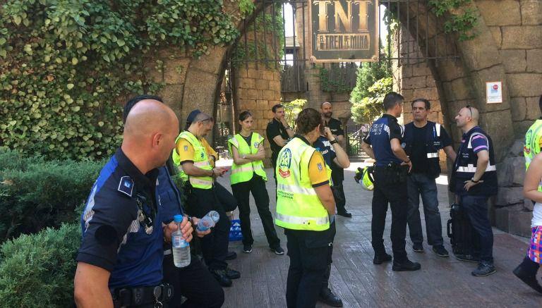 Accidente en una montaña rusa deja 33 heridos leves en España