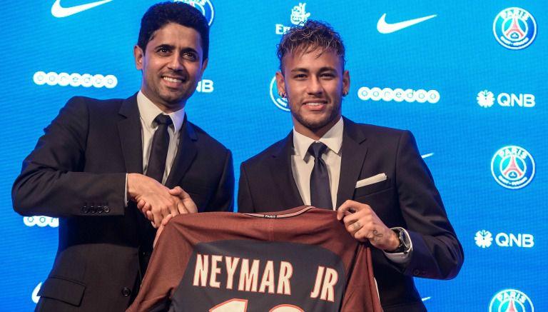 Neymar paga su salida del Barcelona