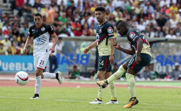 Así fue el remate para el gol de Quintero