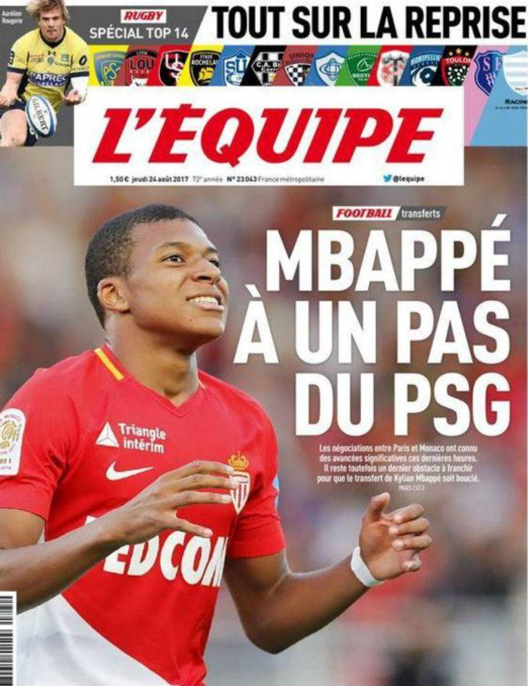 Fair Play Financiero impediría llegada de Kyllian Mbappé al PSG